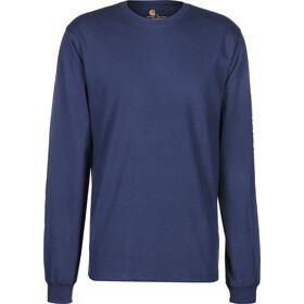 Carhartt Longsleeve Pullover Men, deep blue indigo